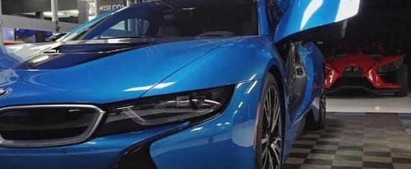 West Coast Customs Boss Drives this Protonic Blue BMW i8