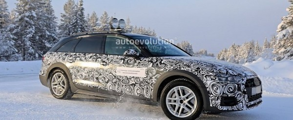 Winter Spyshots Audi A4 Allroad Facelift Getting Ready For 2020