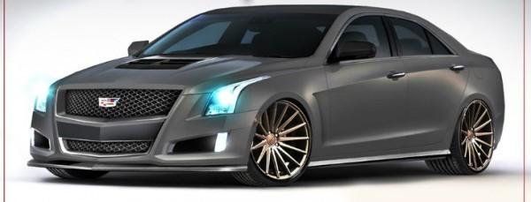 Zz Performance Cadillac Ats Coming To Sema Video Autoevolution
