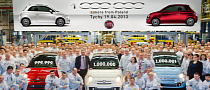 1 Millionth Fiat 500 Produced in Poland