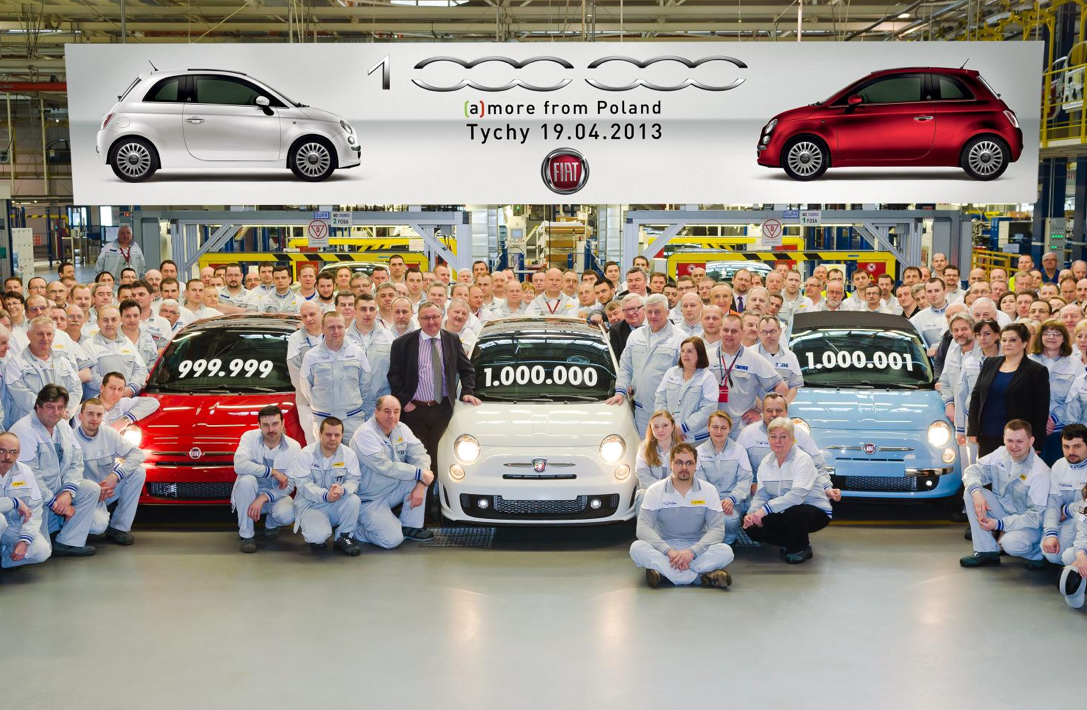 1 Millionth Fiat 500 Produced In Poland Autoevolution