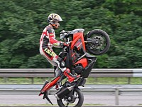 Wheelies are cool but not a beginner's business