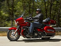Touring bikes offer a very comfortable riding position