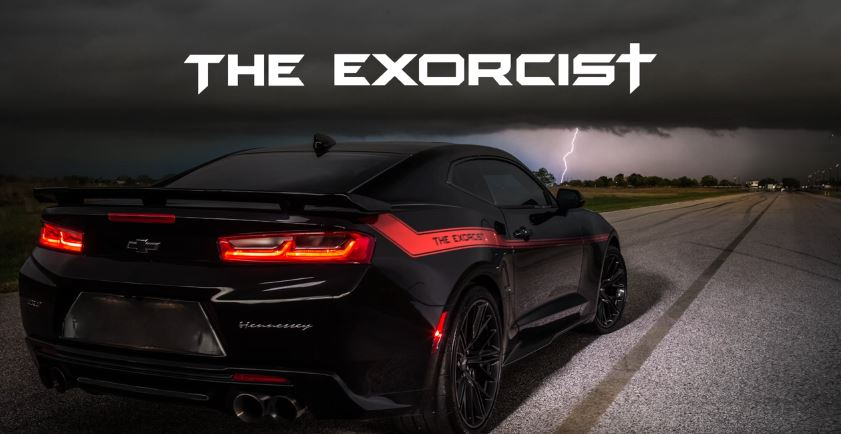 Hennessey reveals 745kW Demon-fighting Camaro Exorcist