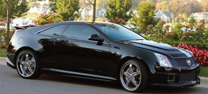 1 000 hp harold martin cadillac cts v coupe to stun 2011. Black Bedroom Furniture Sets. Home Design Ideas