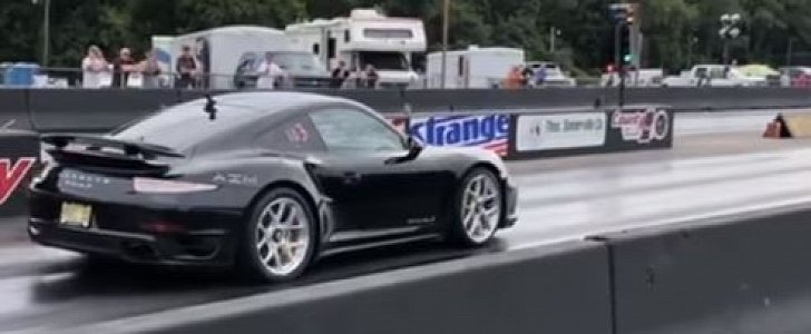 1,000 HP Porsche 911 Turbo S Sets 1/4-Mile Record with Amazing 8s Pass - autoevolution