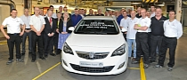 100,000th Astra Sports Tourer Produced at Vauxhall's Ellesmere Port Plant