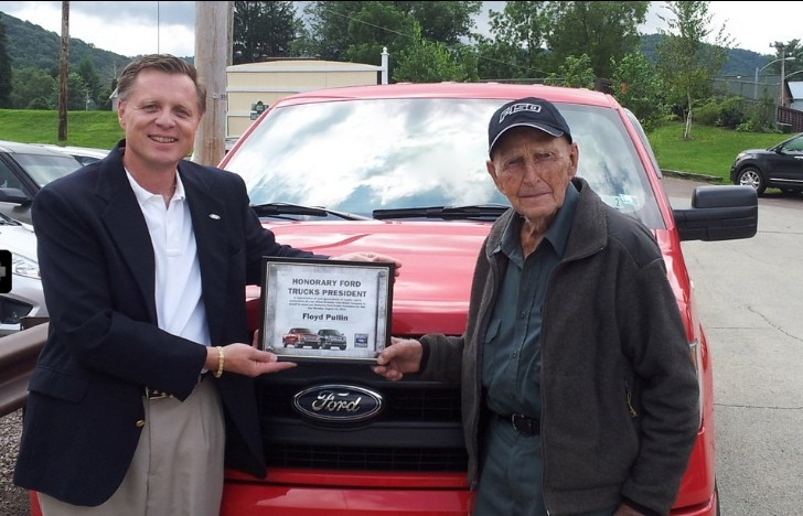 102-Year-Old Man Becomes Honorary Ford Trucks President for a Day [Video]