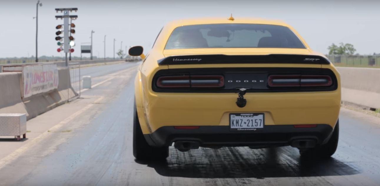 1 035 Hp Dodge Demon Sets 1 4 Mile World Record With Brutal 9 13s