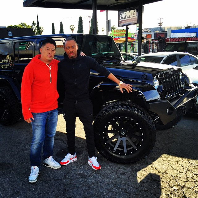 Nicest Jeep Wrangler >> 106 & Park's Host Terrence J Gets His Jeep Wrangler Customized - autoevolution
