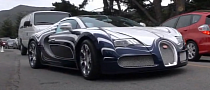 11-Strong Bugatti Veyron Invasion Hit the States [Video]