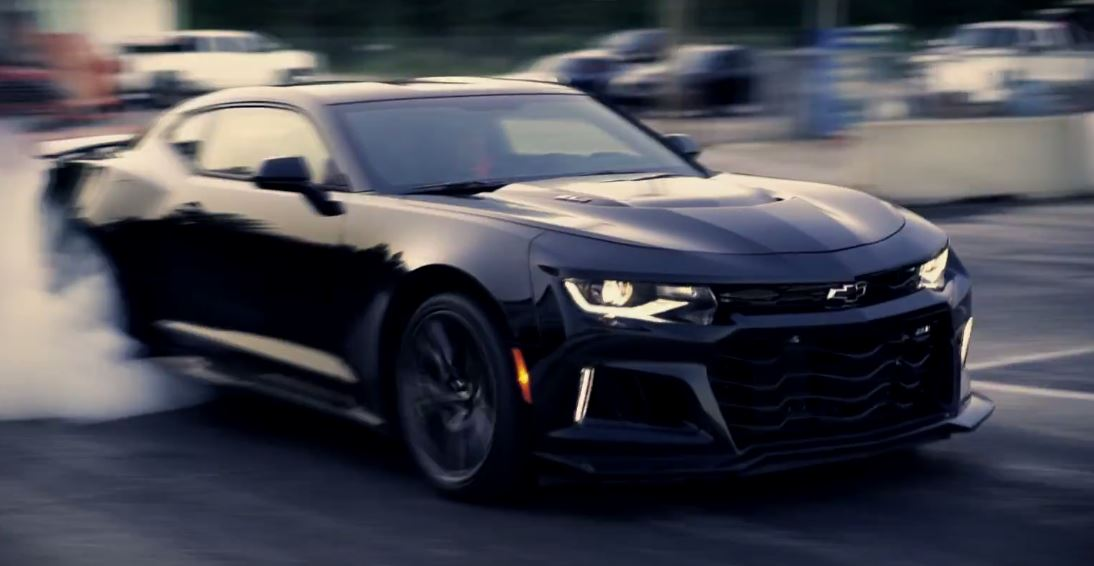 6 Photos 1 100 Hp Chevrolet Camaro Zl1 Sets 4 Mile