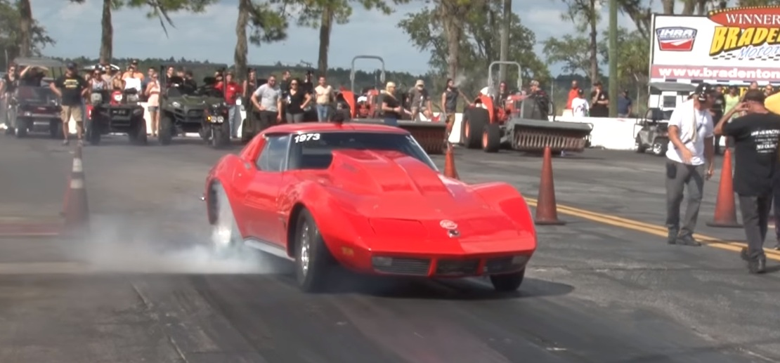 1,100 HP Corvette with Toyota 2JZ Engine Says No to Big Block, Supra ...