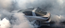 1,100 HP Turbo Trans Am Does Insane Burnout [Video]