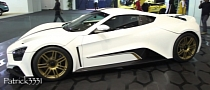 1,104 HP Zenvo ST1 Shines at 2013 Dubai Motor Show [Video]