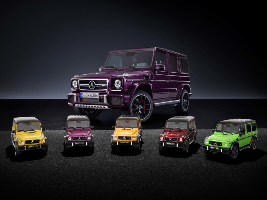 1 18 Scaled Mercedes Benz G Class Models Are Just As Exclusive As The Real Ones Autoevolution