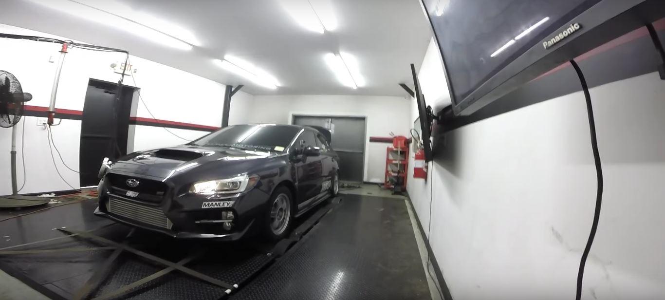 1,200 Horsepower 2015 Subaru WRX STI Hits the Dyno, Chaos