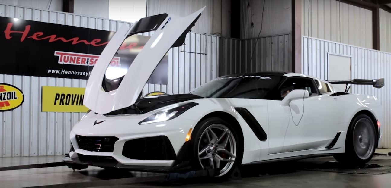 1 200 Hp Chevrolet Corvette Zr1 Starts Upgrade With A Monster Dyno Run
