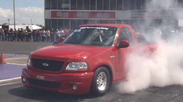 1,200 HP Ford Truck Rocks the Dragstrip with 9-Second Quarter Mile - autoevolution