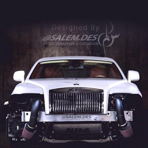 2016 Rolls Royce Wraith Camshaft: 1,200 HP Rolls-Royce Wraith Twin-Turbo
