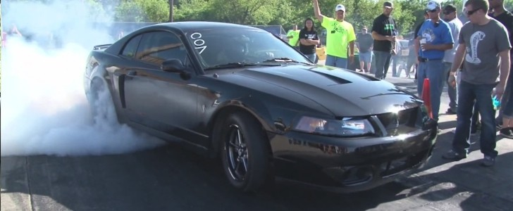 1,200 HP Twin-Turbo Ford Mustang SVT Cobra Street Car Devours Fox Bodies - autoevolution
