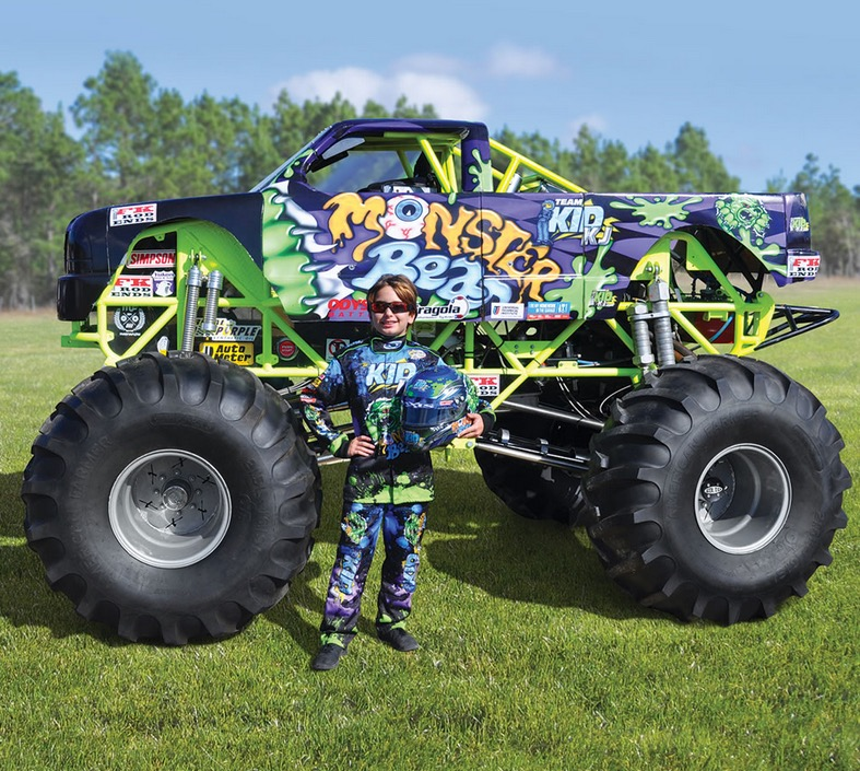 125 000 monster truck for kids is the ultimate spoil autoevolution. Black Bedroom Furniture Sets. Home Design Ideas