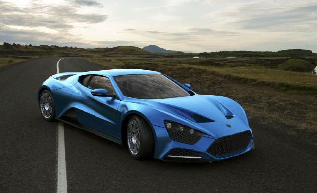 1250hp zenvo st1 50s supercar comes with free aspen