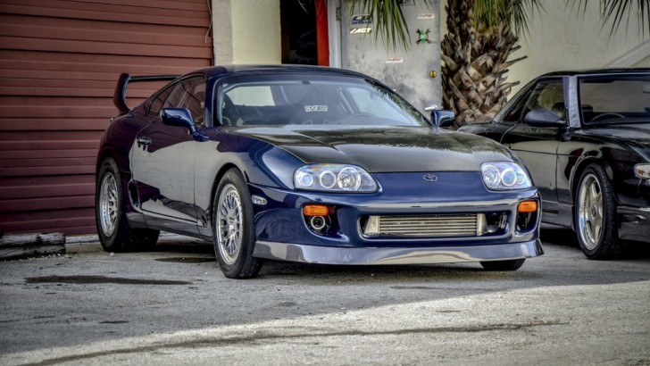 1 300 Hp Drag Toyota Supra Can Be Yours Autoevolution