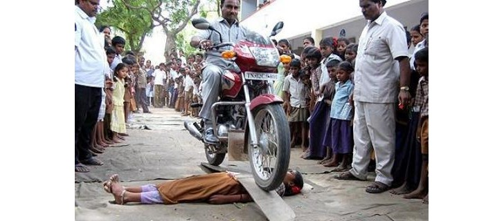 139 Indian Riders Fined for Stunts in Large-Scale Police Action