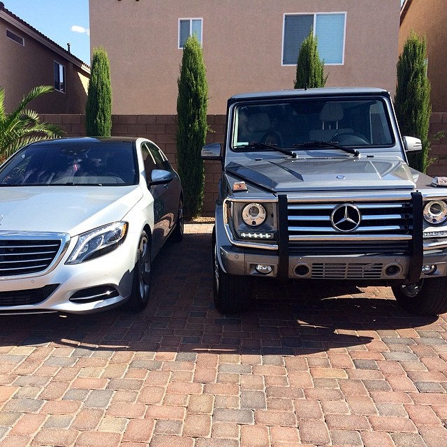 Floyd mayweather s 14 year old daughter owns two mercedes for Who owns mercedes benz now