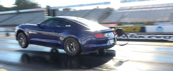 1,400 HP Mustang GT Does 7s 1/4-Mile Run with Amazing 60-foot Time