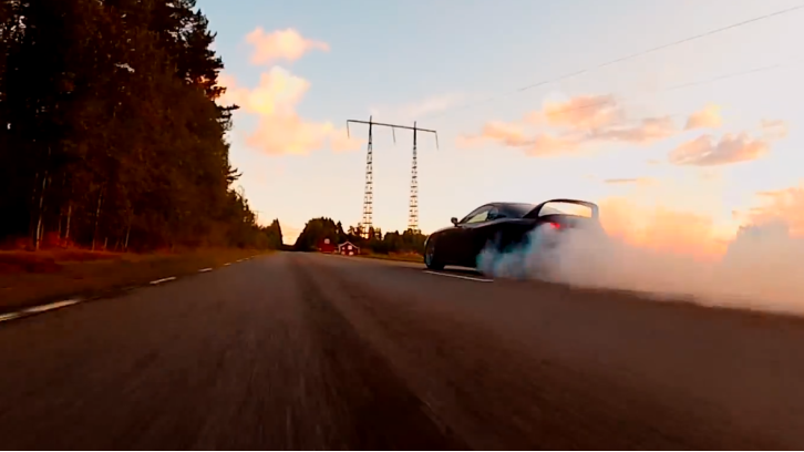1400 HP Toyota Supra Almost Crashes [Video]