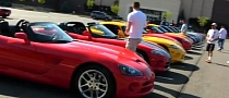 15 Dodge Viper Engines Start-Up Concert [Video]