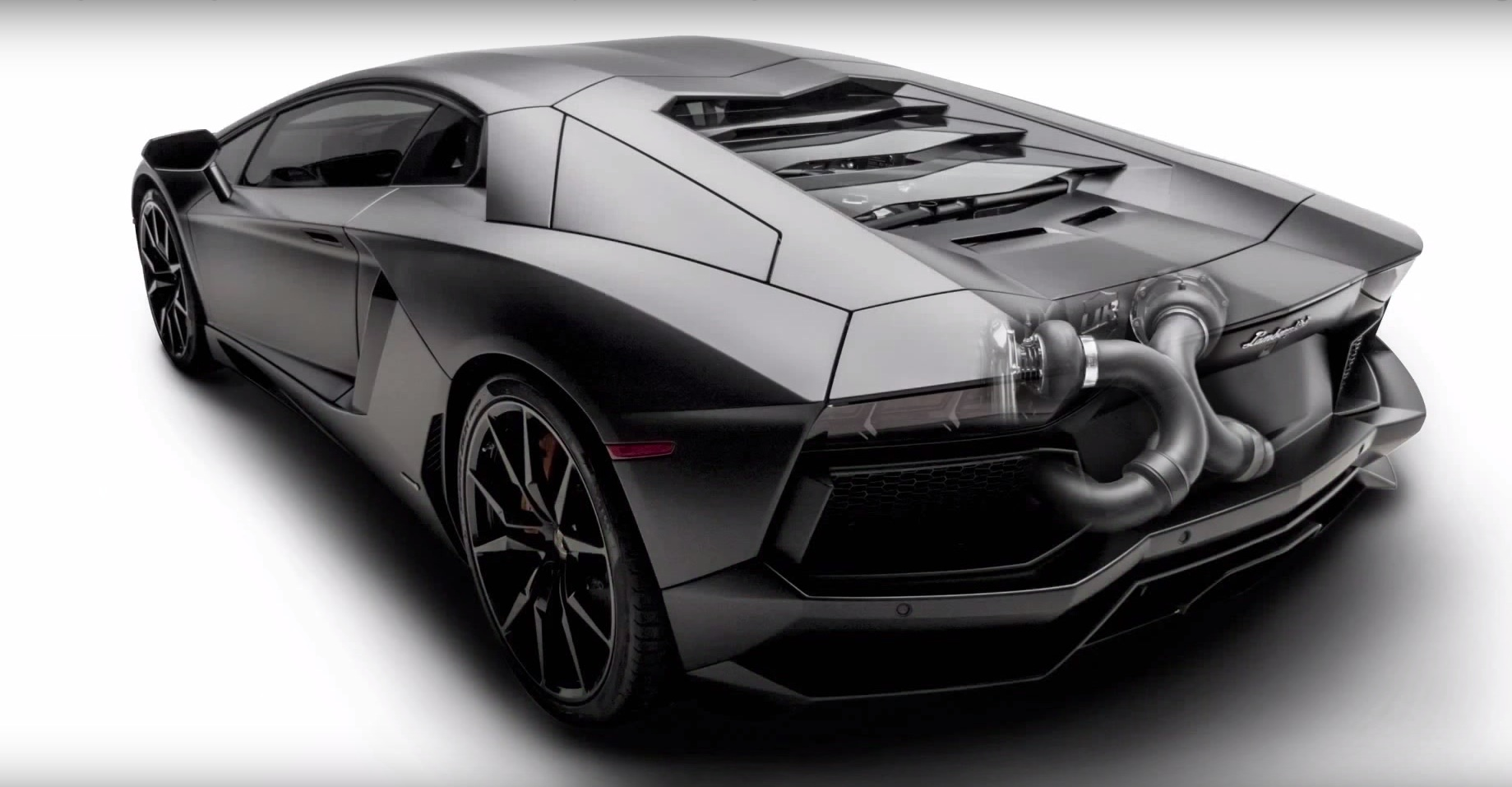 Lamborghini aventador twin turbo