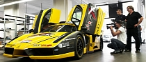 $1,5M Edo Ferrari Enzo Lands in Germany to Have Targa Newfondlang Ocean Crash Damage Fixed