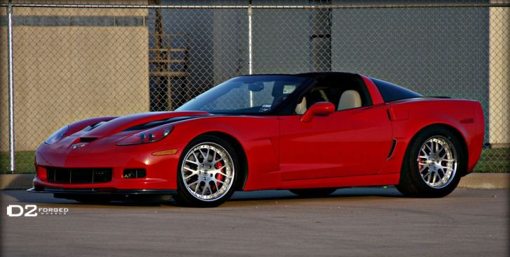 1,600 hp Chevrolet Corvette on D2Forged Wheels