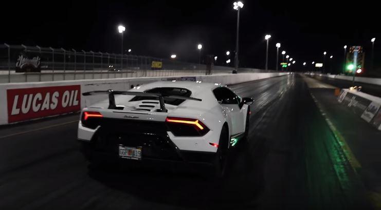 Lamborghini 1/4 mile