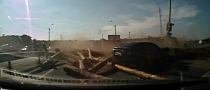 18-Wheeler Carrying Logs Topples Over in Russia [Video]