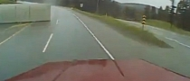 18-Wheeler Topples Over in Canada [Video]