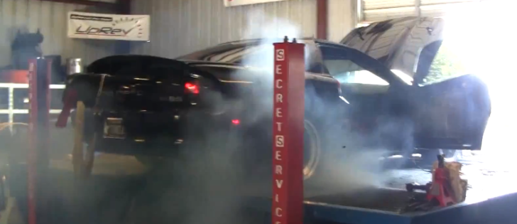 1800 HP Camaro Tire Explodes on Dyno at 200 MPH [Video]