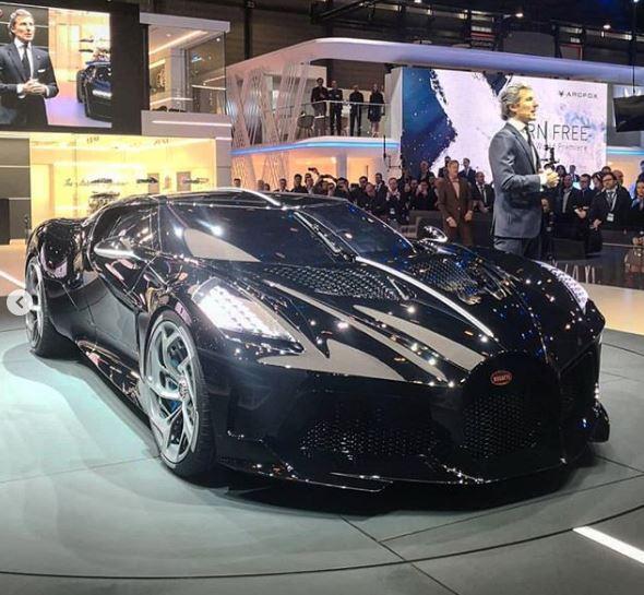 $18.7M Bugatti La Voiture Noire Has A Dark Secret