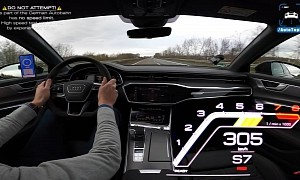 189+ MPH on the Autobahn in Audi RS6 Shows MHEV Family Haulers Can Be Ultra-Fast