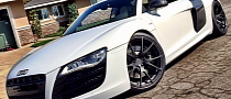 18YO Pro Skateboarder Nyjah Huston Shows Off Audi R8