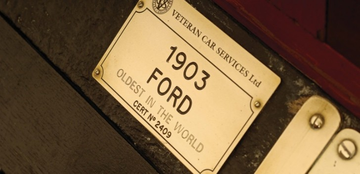 1903 Model A Goes to Auction - Oldest Surviving Ford
