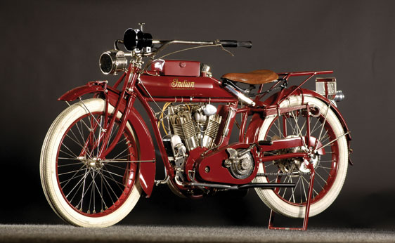 1915 Indian Big Twin Motorcycle Up for Auction - autoevolution