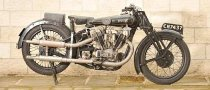1928 McEvoy-JAP 980cc Motorcycle Up for Auction