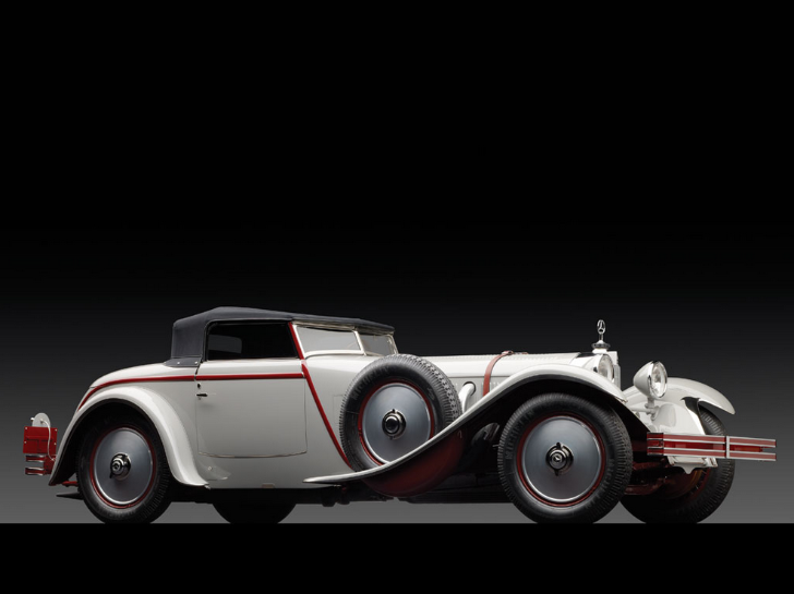 1928 Mercedes-Benz 680S Torpedo Roadster by J. Saoutchik to be Sold at Monterey [Photo Gallery]