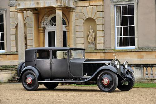 1929 Rolls Royce Phantom II Weymann Up for Auction  autoevolution