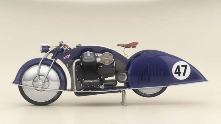 1934 Voisin Aerodyne-Inspired VSN 47 Concept Motorcycle [Photo Gallery]