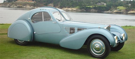 1936 bugatti type 57sc atlantic showcased in california. Black Bedroom Furniture Sets. Home Design Ideas